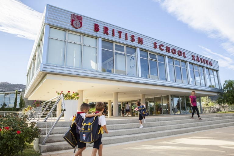 exterior edificio british school xativa