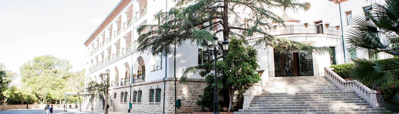 Edificio con la historia de British School de Alzira