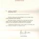 Carta del Palacio de Buckingham